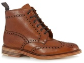 Loake Brown Leather Brogue Boots