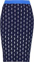 Jonathan Simkhai Jacquard-knit pencil skirt