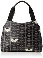 Orla Kiely Wild Daisy Print Classic Zip Shoulder Bag