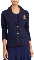 Lauren Ralph Lauren Sweater Knit Blazer