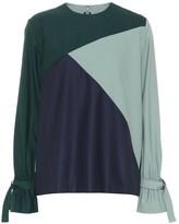 BODICE Long sleeved wool top