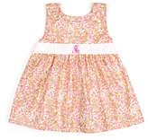 Princess Linens Pink Dots Initial Dress - Infant, Toddler & Girls