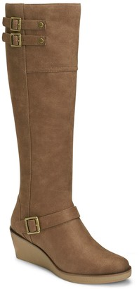 Aerosoles A2 by Robins Egg Women's Wedge Knee-High Boots