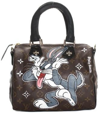 Louis Vuitton X Philip Karto Monogram Canvas Bugs Bunny Speedy 25
