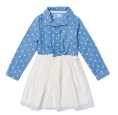 Epic Threads Little Girls Tie Front Tutu Dress