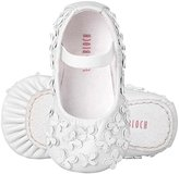 Bloch Shoe Baby Papillon Flat, White, Toddler