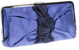 Martine satin party clutch