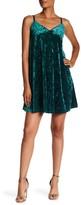 Bobeau Velvet Slip Dress