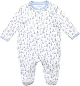 Jo-Jo JoJo Maman Bebe Boat Footie (Baby)-Blue-0-3 Months
