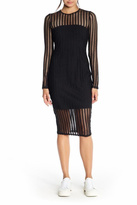 KENDALL + KYLIE Lattice Jersey Dress