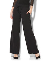 New York & Co. Drawstring Palazzo Pant