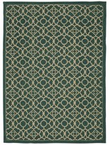 Waverly Color Motion Lovely Lattice Teal Area Rug by Nourison (5' x 7')