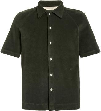 Massimo Alba Terrycloth Button-Front Shirt