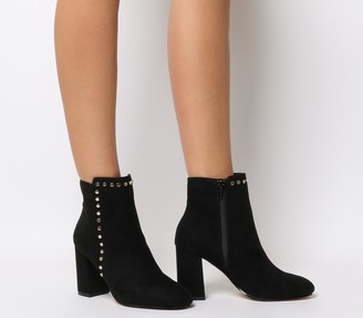 Office Anne Marie Stud Boots Black