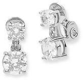 Anne Klein Cubic Zirconia Double Drop Earrings