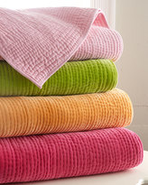 """Horchow """"Ethan"""" Velvet Quilts"""