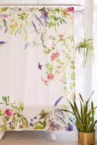 Urban Outfitters Wildflowers Shower Curtain