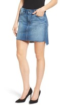 Good American Women's The Stagger High Waist Miniskirt
