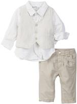Kanz Shirt, Vest, & Pant Set (Baby & Toddler Boys)