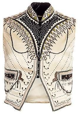 Etro Women's Embroidered Silk Vest