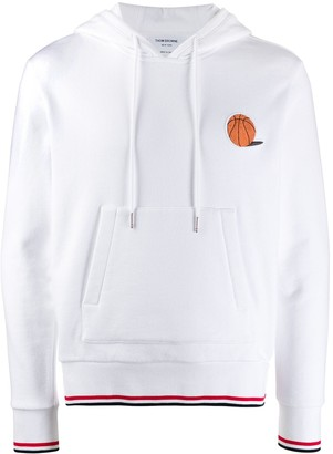 Thom Browne Basketball Icon Hoodie Pullover