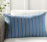 Pottery Barn Declan Stripe Indoor/Outdoor Lumbar Pillow