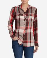 Eddie Bauer Women's Tranquil Long-Sleeve Shirt - Pattern