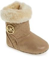 MICHAEL Michael Kors 'Kelly' Crib Shoe (Baby)