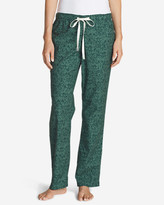 Eddie Bauer Women's Stine's Favorite Flannel Sleep Pants