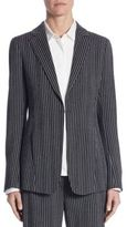 Akris Punto Striped Wool Blazer