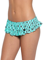 Betsey Johnson Bow Net Skirtini Bottom