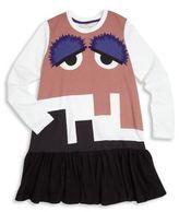 Fendi Toddler's, Little Girl's & Girl's Monster Drop-Waist Dress