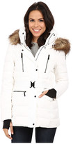 Vince Camuto Belted Down with Faux Fur Trim J8581