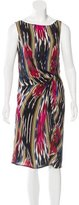 Thakoon Abstract Print Silk Dress