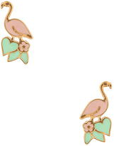 Marc Jacobs Flamingo Stud Earrings