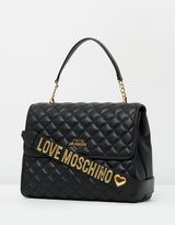 Love Moschino Quilted Handheld Crossbody Bag