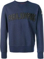 Parajumpers logo patch sweatshirt - men - Cotton - M
