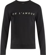 A.P.C. Oh L'Amour crew-neck sweatshirt