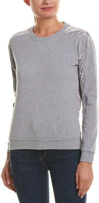 Romeo & Juliet Couture Velvet Sweatshirt