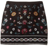 Ella Moss Kera Ponte Skirt with Embroidery Girl's Skirt