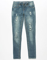 Vanilla Star PREMIUM Rip & Repair Girls Jeans