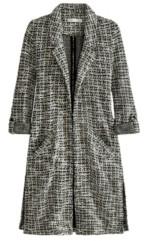 Adyson Parker Women's Plus Size 3/4 Sleeve Tweedy Duster Cardigan