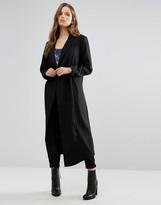 Minimum Moves Oversized Coat