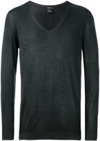 Avant Toi V-neck pullover - men - Silk/Cashmere - S