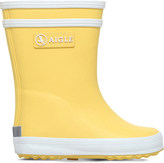 Aigle Baby flac rubber wellington boots 6 months - 3 years