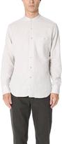 Freemans Sporting Club Long Sleeve Band Collar Shirt