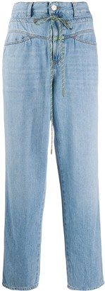 Closed x Societe Anonyme drawstring jeans