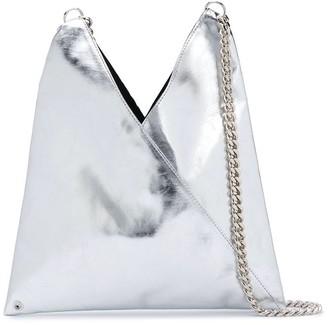 MM6 MAISON MARGIELA Metallic-Sheen Crossbody Bag