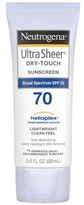 Neutrogena Ultra Sheer® Dry-Touch Sunscreen Broad Spectrum - SPF 70 - 3 Fl Oz
