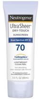Neutrogena Ultra Sheer Dry-Touch Sunscreen Broad Spectrum SPF 70 - 3oz